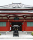 Doorway at Senso-Ji Temple Royalty Free Stock Photography
