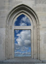Doorway to the Sky Royalty Free Stock Photo