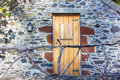 Doorway in a village of madeira portugal Royalty Free Stock Image