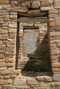 Doorways in ancient Native American village Royalty Free Stock Photo