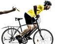 Doping sport concept man silhouette Royalty Free Stock Photo