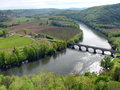 Dordogne river Royalty Free Stock Photo