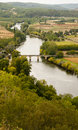 Dordogne river and Dordogne valley France Royalty Free Stock Photography