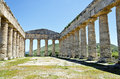 The Doric temple of Segesta Royalty Free Stock Photos