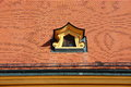 The dormer on the roof Stock Photography