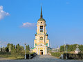 Dormition church in voronezh russia admiralty Royalty Free Stock Photos