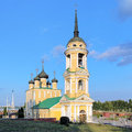 Dormition church in voronezh russia admiralty Stock Photo