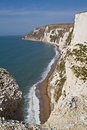 Dorset coastline from Bats Head Royalty Free Stock Photos