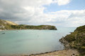 Dorset coastline at lulworth cove england Stock Image