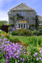 Dorset garden england in summer Stock Photography