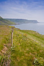Dorset s south west coast path part jurassic heritage coastline Stock Image
