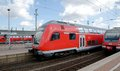 Dortmund deutsche bahn regio train in germany Stock Images