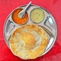 Dosa with chutneys breakfast of tamil nadu south indian food Stock Photos