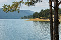 Dospat lake, Bulgaria Royalty Free Stock Photography