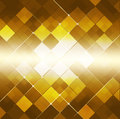 Dot golden background quadrado abstrato Fotos de Stock