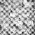 Dot halftone background design vector illustration
