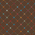 Dot template of vintage background. EPS 8 Royalty Free Stock Photography