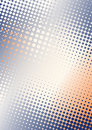 Dots background b blue orange Stock Photo