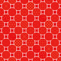 Dots background with japanese traditional design pattern of Royalty Free Stock Photos