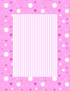 Dots and stripes Royalty Free Stock Photo