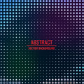 Dotted background vector illustration this is file of eps format Royalty Free Stock Photo