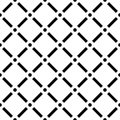 Dotted grid mesh pattern. Squares with circle nodes. Seamless,