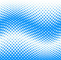 Dotted halftone background vector illustration of a horizontally seamless Stock Images