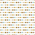 Dotted pattern modern stylish texture repeating spiral abstract background for wallpaper Stock Photography
