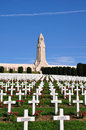 Douaumont ossuaire memorial in verdun france word war one Stock Photos