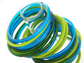 Double color bangles Royalty Free Stock Image
