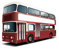 Double-decker bus Royalty Free Stock Photography