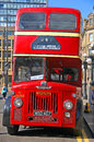 A double-decker bus Royalty Free Stock Photo
