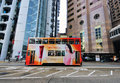 Double Decker, Hong Kong Stock Photos