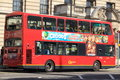 Double decker in london the bus england Stock Image