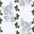 Double exposed olive pattern Royalty Free Stock Photo