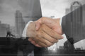 Business People Group Boss Hand Shake Welcome Gesture In Modern Office, Businesspeople Team Handshake
