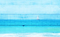 Double Exposure Image Of Sailb...