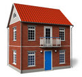Double floor cottage Royalty Free Stock Photography