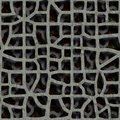 Double grate Royalty Free Stock Photo