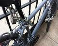 Double Locked Bike