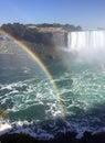 Double rainbow Niagara Falls Royalty Free Stock Photo