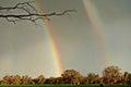 Double Rainbow Over My House