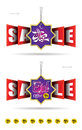 Double Sided Eid Offer Hanging Sale Banner