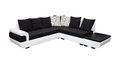 Double sofa moderne de ton d isolement avec le chemin de coupure inclus Photos stock