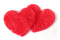 Double texture heart image photo Royalty Free Stock Image
