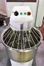 Dough mixer electric machine Royalty Free Stock Photo