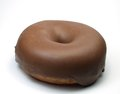 Doughnut with chocolate Stock Image