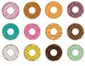 Doughnut Icon Set