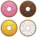 Doughnuts EPS Royalty Free Stock Photos
