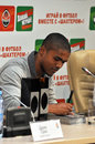 Douglas costa chante les photos Photo libre de droits